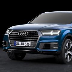 Virtuelles Studio GmbH - Visualisierung des Audi Q7 - Frontansicht
