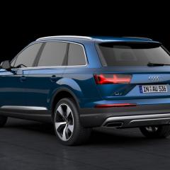 Virtuelles Studio GmbH - Visualisierung des Audi Q7 - Heckansicht
