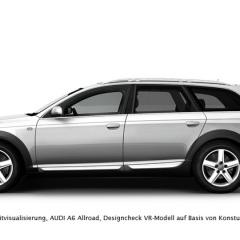 Virtuelles Studio GmbH - Visualisierung A6 allroad für die AUDI AG