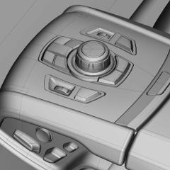Virtuelles Studio GmbH - Strak Interieur des BMW 7 mit ICEM Surf und Alias, Menü