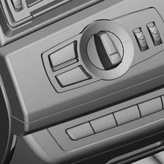 Virtuelles Studio GmbH - Strak Interieur des BMW 7 mit ICEM Surf und Alias, Radio