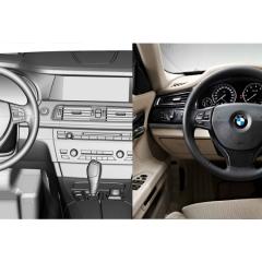Virtuelles Studio GmbH - Strak Interieur des BMW 7 mit ICEM Surf und Alias, Cockpit
