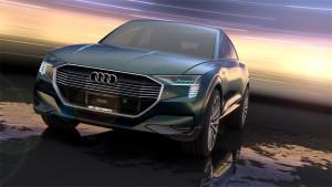 Visualization of Audi e-tron quattro concept