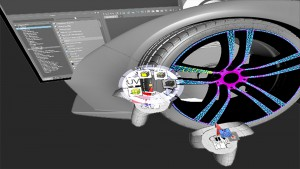 Modelling with Maya or Rhino and VR goggles with controllers
